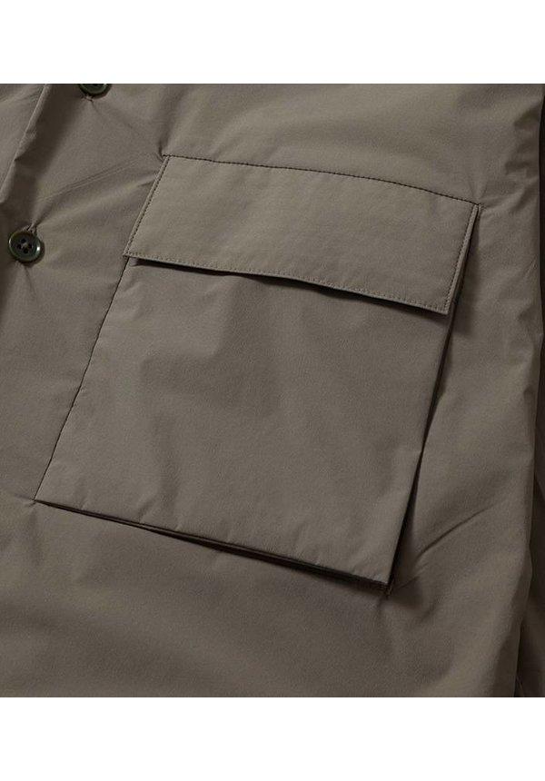 Insulation Cardigan Khaki Beige