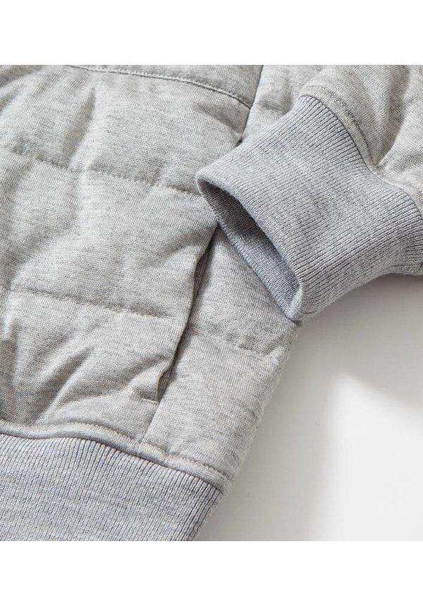 Down Crew Neck Sweater Heather Grey