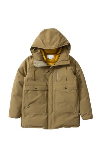 Nanamica Down Coat Beige