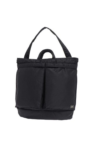 Yoshida Porter Tanker 2-Way Helmet Bag Black