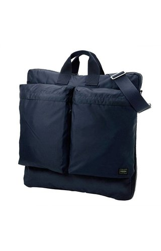Yoshida Porter Force 2-Way Helmet Bag Navy