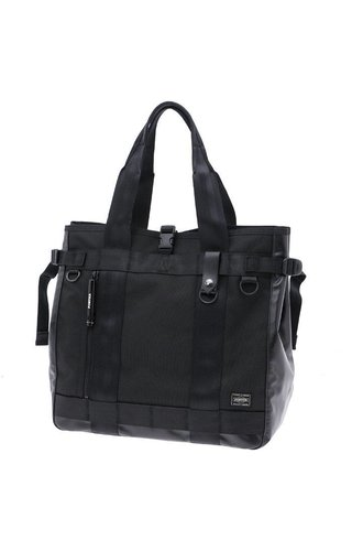 Yoshida Porter Heat Tote Bag Black