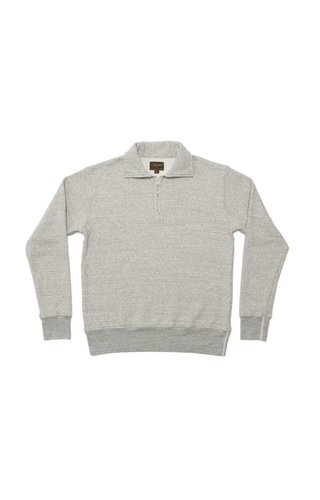 National Athletic Goods 1/4 Zip Campus Mid Grey