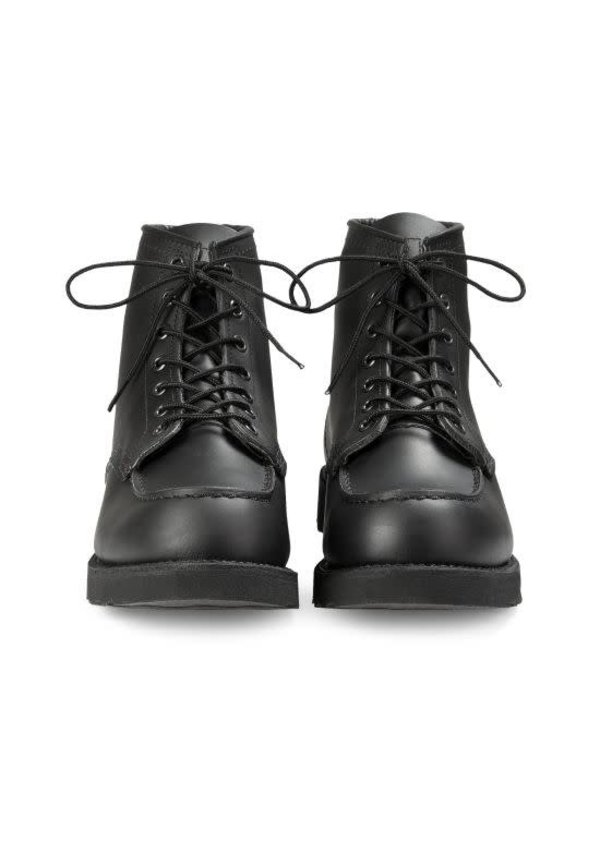 Red Wing 8137 Moc Toe Black Chrome