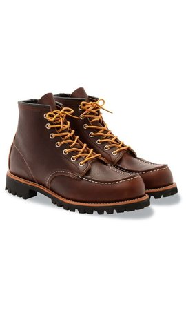 Red Wing Red Wing 8146 Roughneck Moc Toe Briar Oil Slick