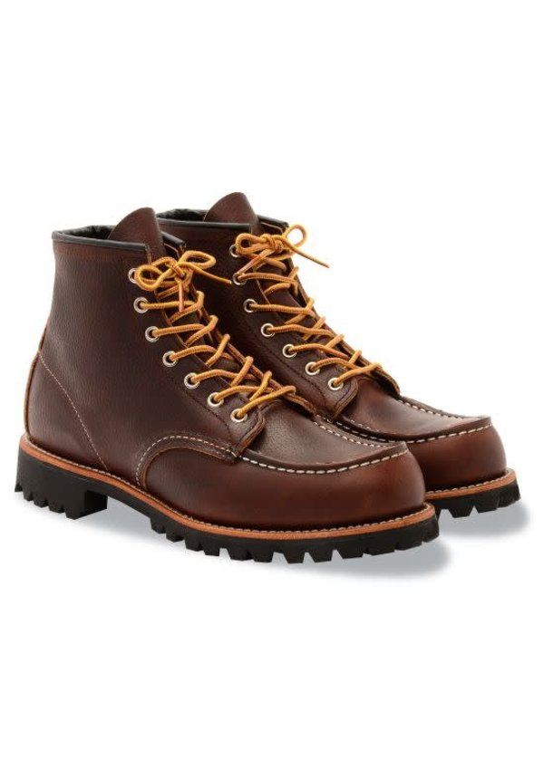 Red Wing 8146 Roughneck Moc Toe Briar Oil Slick