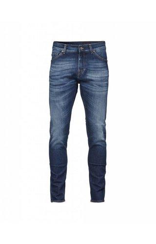 Tiger of Sweden Tiger Of Sweden Evolve Cotton Jeans 21F Medium Blue
