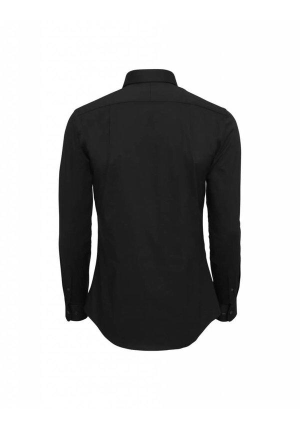 Farrell Cotton Shirt Black
