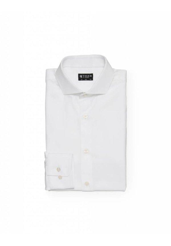 Farrell Cotton Shirt Pure White