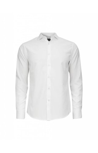 Tiger of Sweden Tiger Of Sweden Farrell Cotton Shirt Pure White