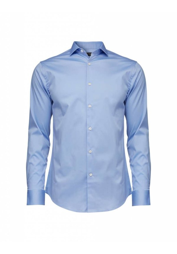 Farrell Cotton Shirt Blue