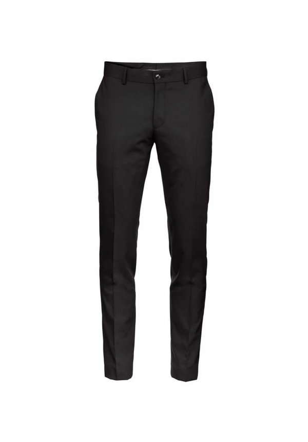 Herris Wool Pants Black