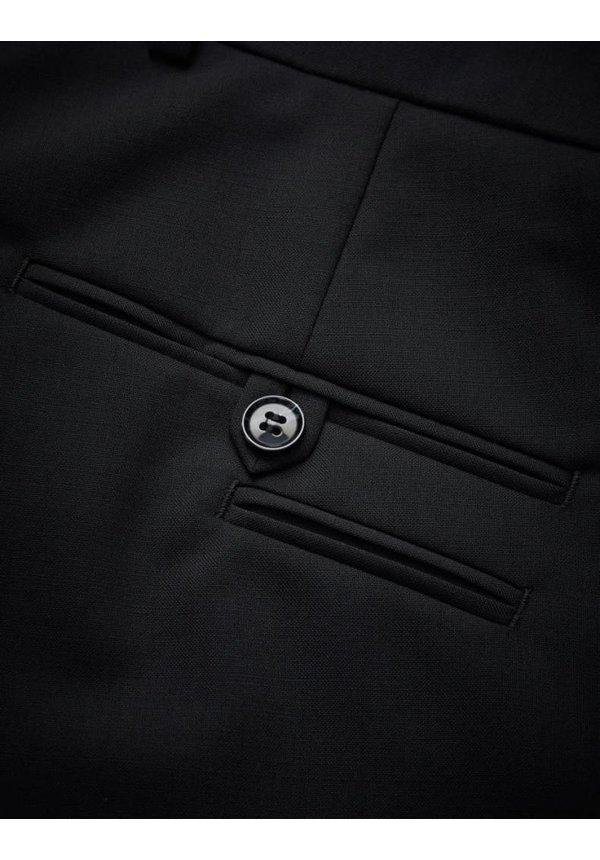 Herris Wool Pants Black