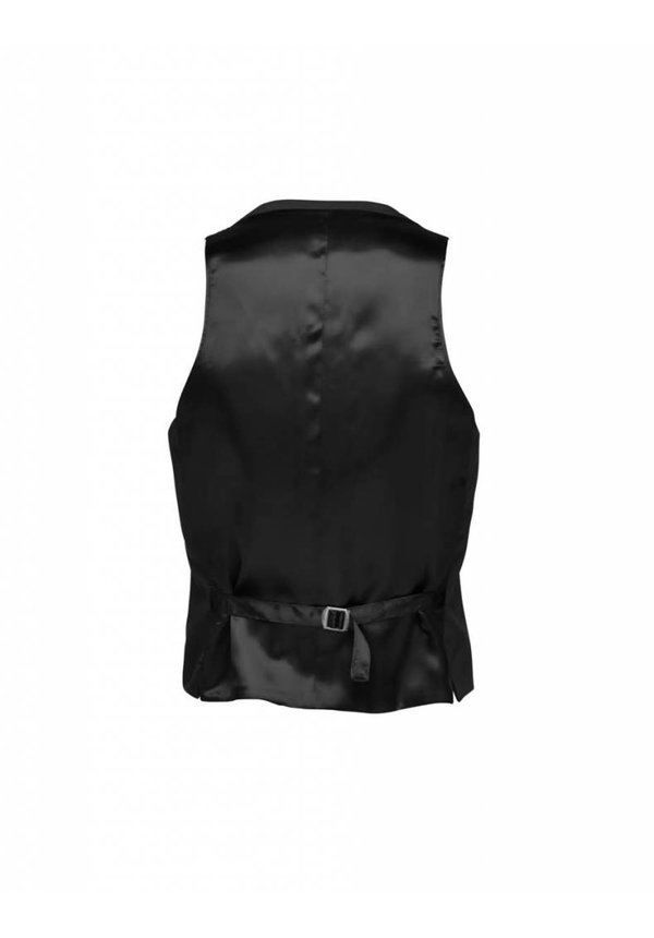 Jeds Wool Waistcoat Black