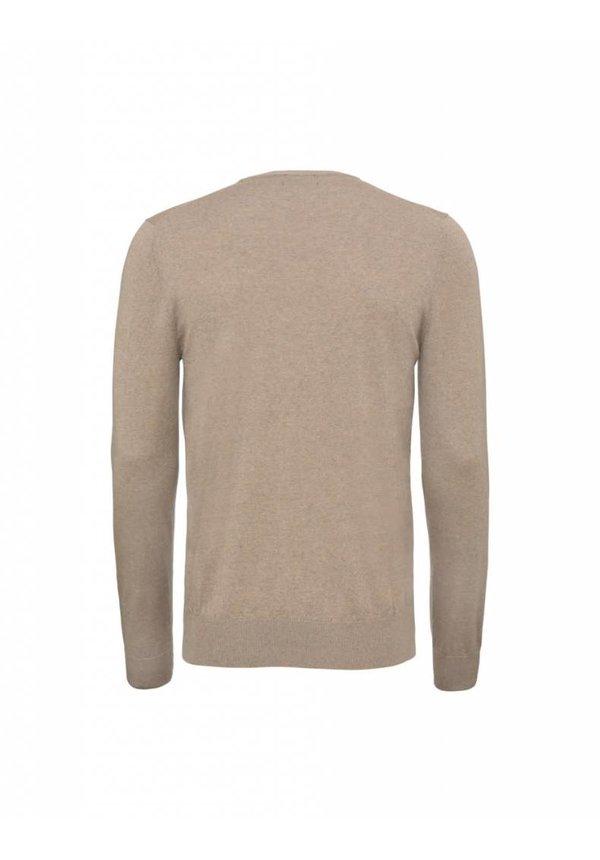 Matias Wool Pullover 1V4 Irish Cream