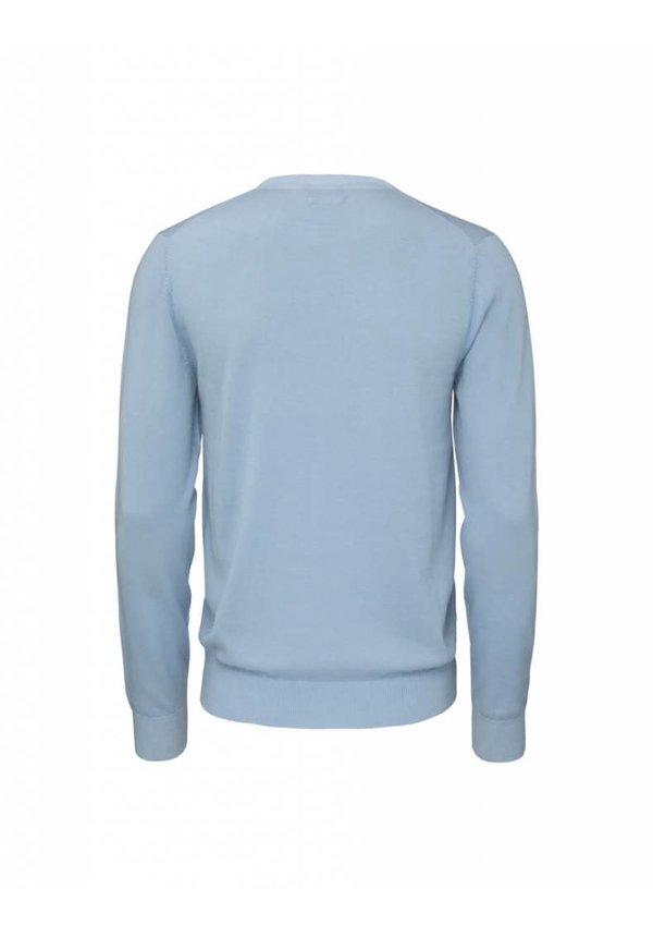 Matias Wool Pullover 2D1 Blue Blush