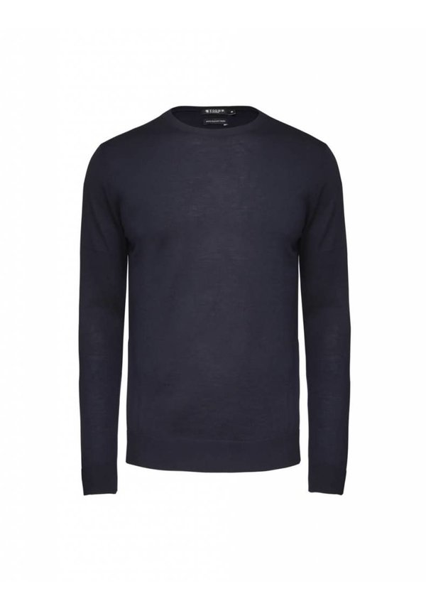 Matias Wool Pullover Light Ink