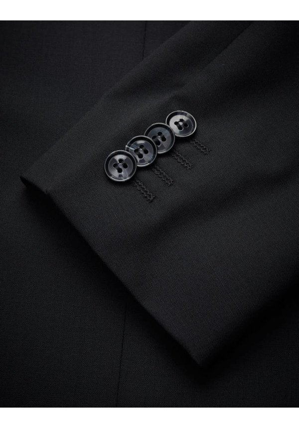 Nedvin Wool Blazer Black