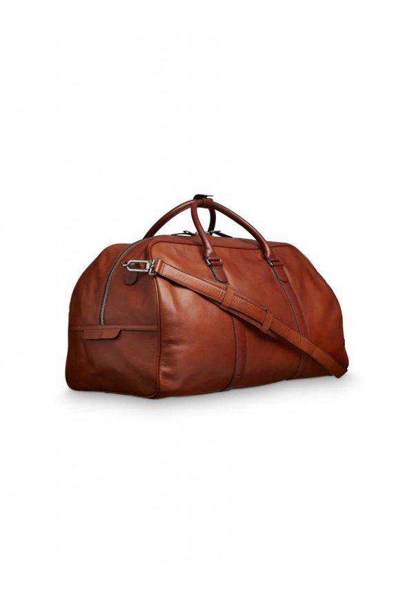Pinchon Medium Leather Bag T82 Medium Brown