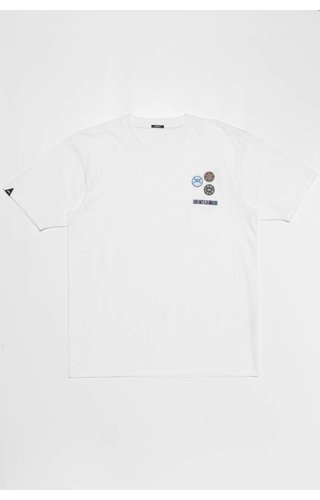 Denham Denham Honour Tee CJ Optic White