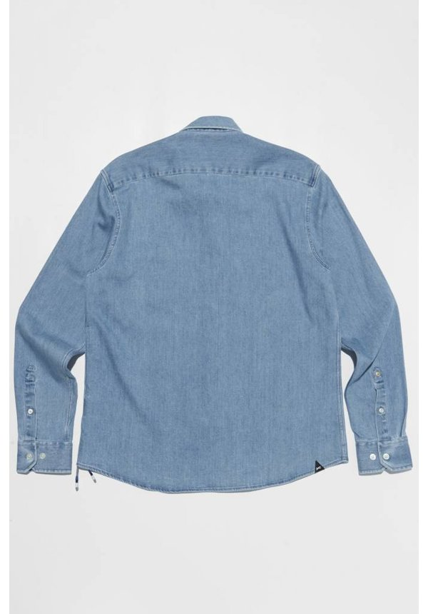 Denham Standard Shirt SYD Washed Indigo