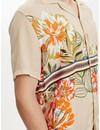 Libertine Libertine Cave Shirt S/S Sand Flower