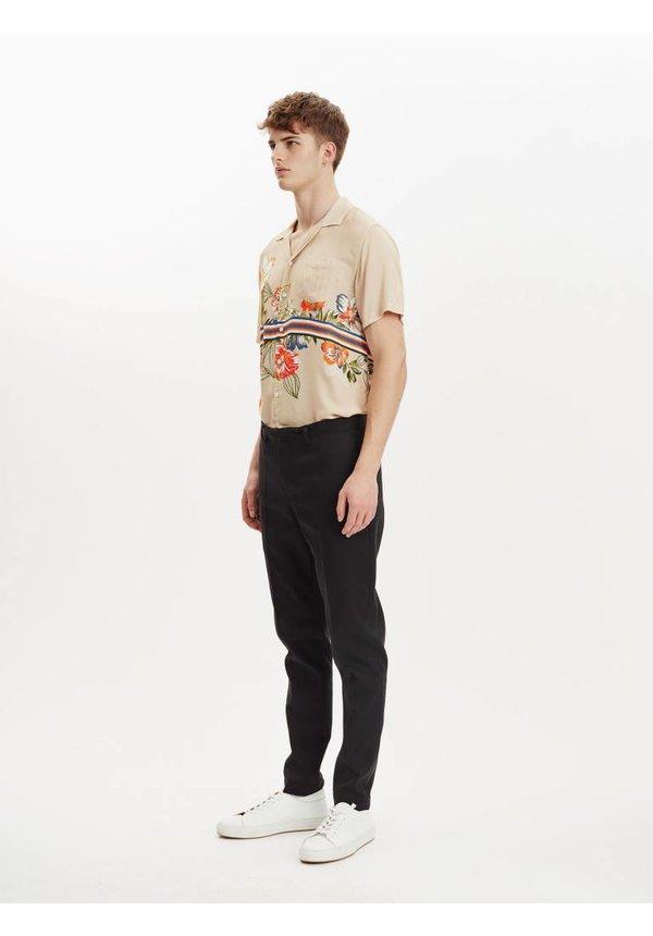 Cave Shirt S/S Sand Flower
