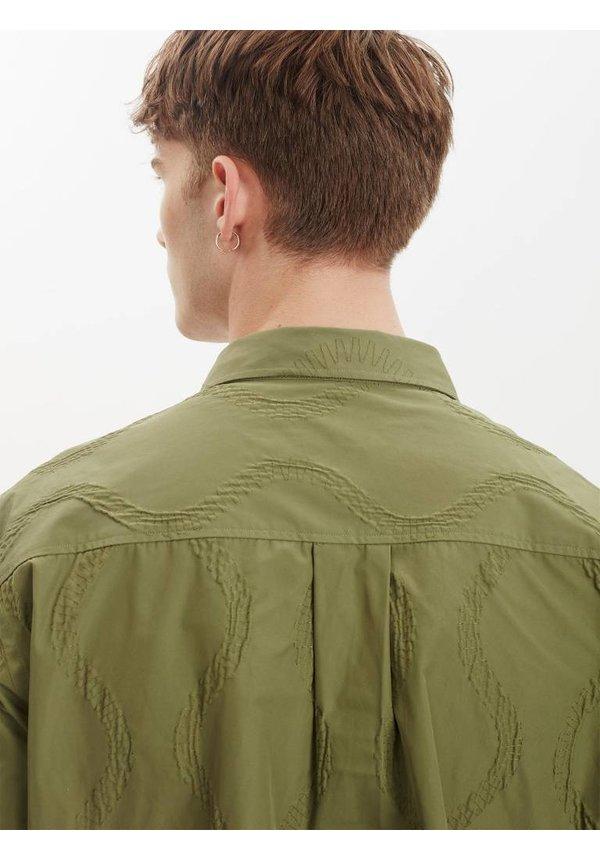 Devotion Overshirt Olive Green