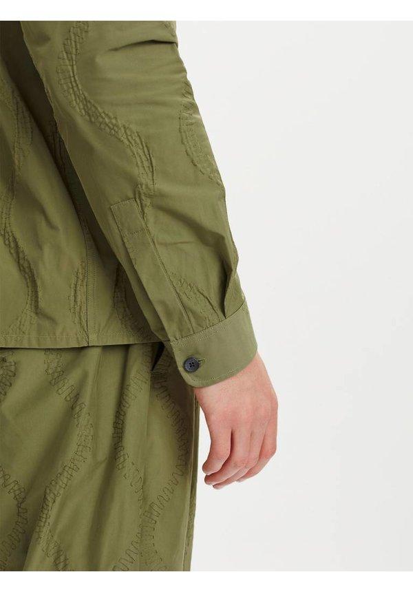 Libertine Libertine Devotion Overshirt Olive Green
