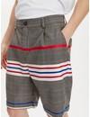 Libertine Libertine Gibbon Shorts Check Stripe