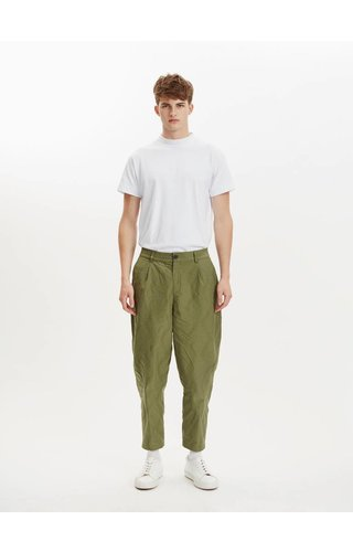 Libertine-Libertine Libertine Libertine Helterskelter Trousers Olive Green