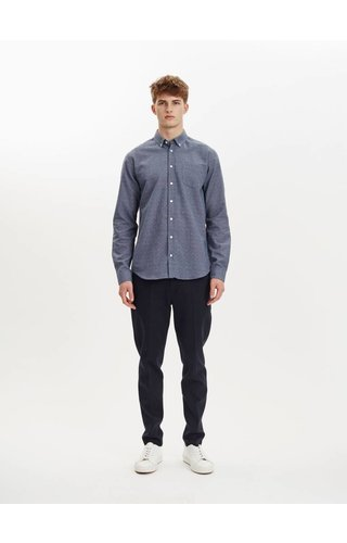 Libertine-Libertine Libertine Libertine Hunter Dress Shirt Blue Nep