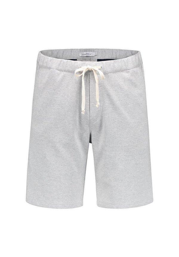 D'Or Short Light Grey Melange