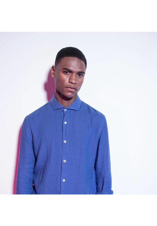La Vie Shirt Linen Garment Indigo