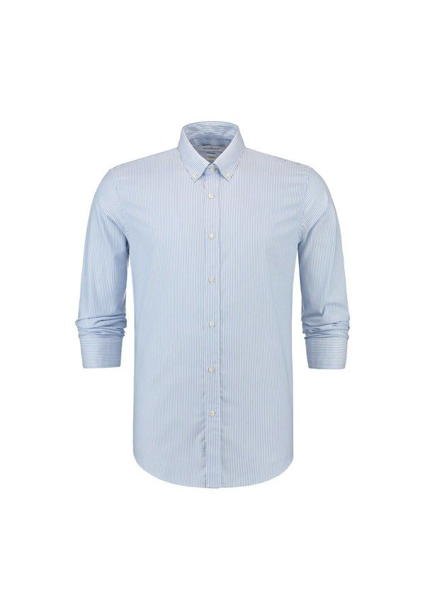 The Good People Oxford Shirt Stripe Light Blue