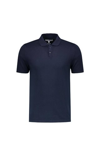 the Good People The Good People Polo Knit Navy