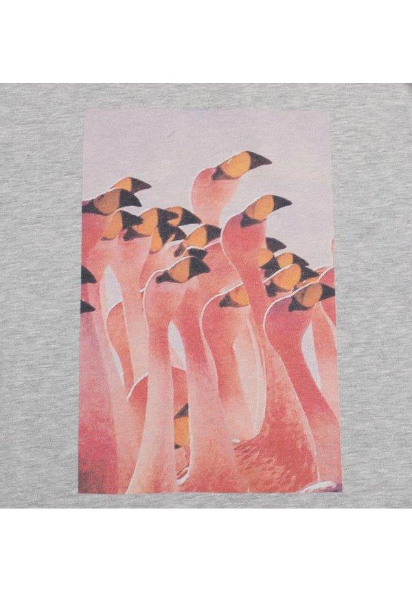 The Good People Surfside Tee Flamingo