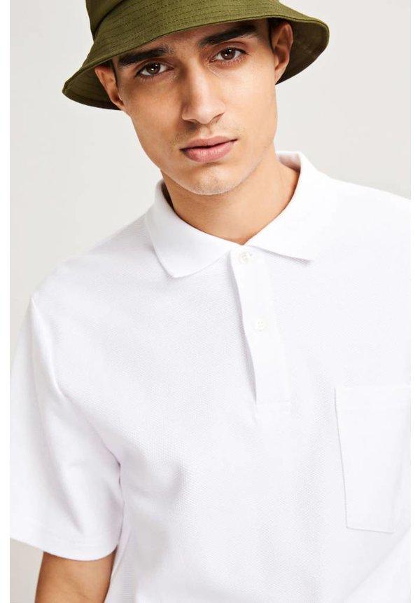 Samsoe Samsoe Gatsby Polo Ss White