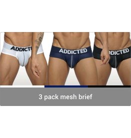 Addicted Addicted 3 Pack Mesh Brief Push up
