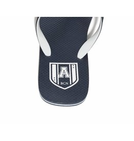 Addicted ADDICTED Flip Flops navy - white