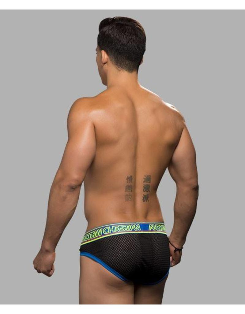 Andrew Christian Andrew Christian Air Brief schwarz