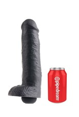 "King Cock King Cock With Balls - Squirti 11"" schwarz"