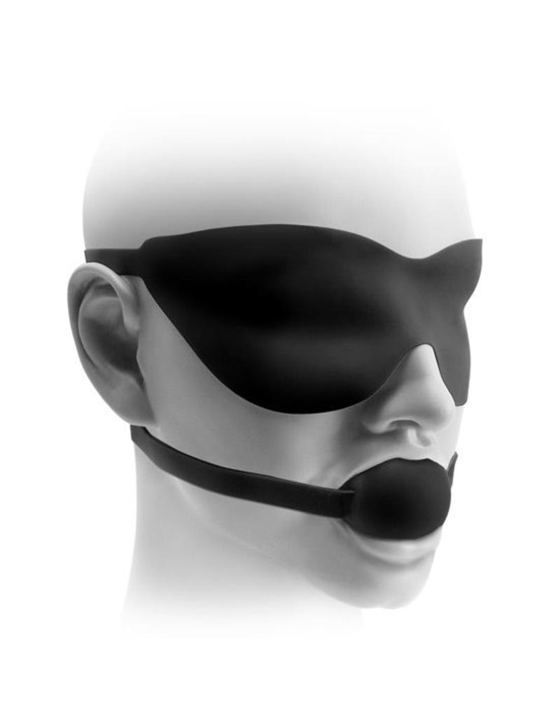 Fetish Fantasy Elite Mouth Gag & Mask