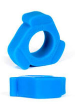Keepburning Burning Wheels 100% Silikon Cockring CK10 Blau