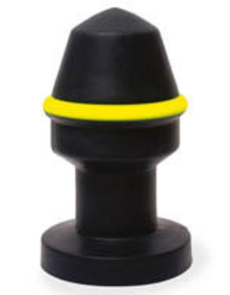 Keepburning Keep Burning Fluo Pipe Plug Black/Yellow