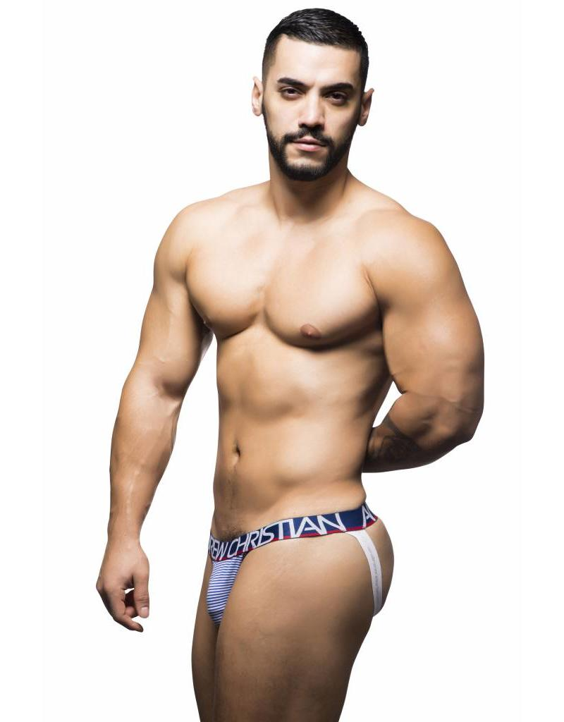Andrew Christian Andrew Christian Almost Naked Nautical Stripe Jock