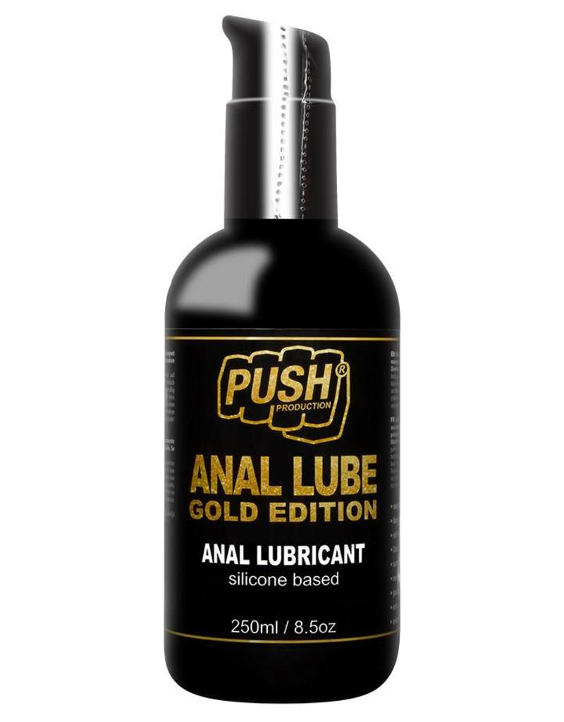 Push Anal Lube Silikon Gold Edition