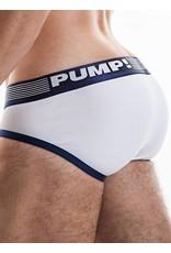 PUMP! PUMP! Ribbed Brief Navy