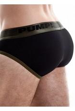 PUMP! PUMP! Ribbed Brief grün