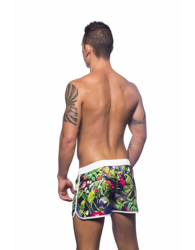 Andrew Christian Andrew Christian Tropical Birds Swim Shorts